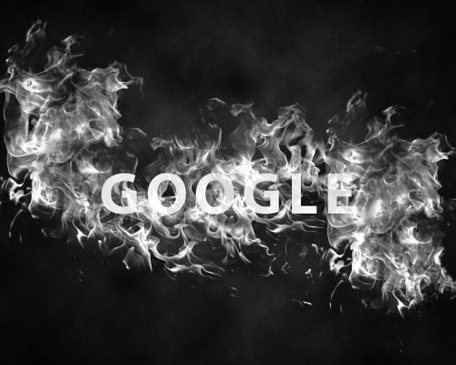 Google tekst u dimu atonsh oglašavanje