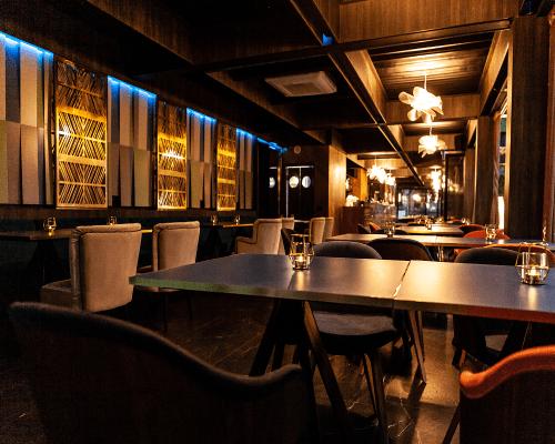 Interijer restorana predivan ugođaj atons dizajn